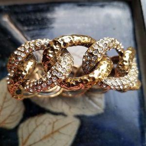 St. John Rare Vintage Cuff Bracelet